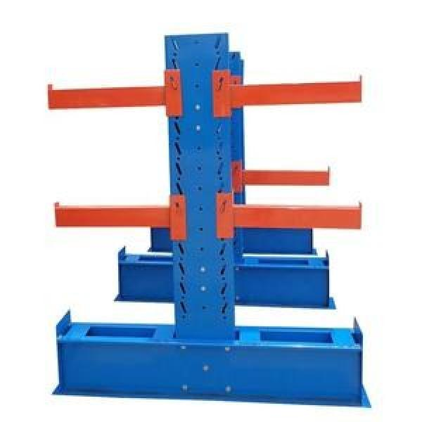 Single or Double Arm Heavy Duty Storage Steel Cantilever Rack #1 image