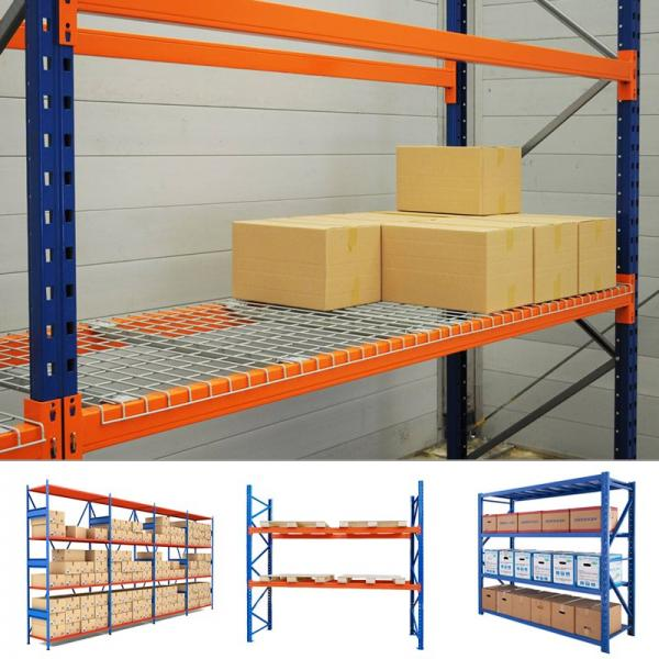 High Quality Industrial Metal Anti Corrosive Medium Duty Selective Warehouse Stacking Rack Pallet Storage #3 image