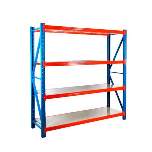 Warehouse Convenience Store Wire Shelving Trolley with Bin Units #3 image