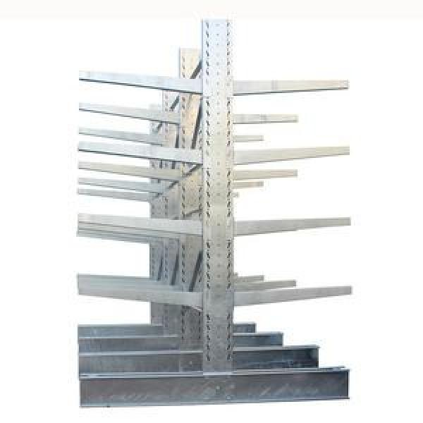Single Faced Steel Storage Heavy Duty Cantilever Rack for Industrial #3 image