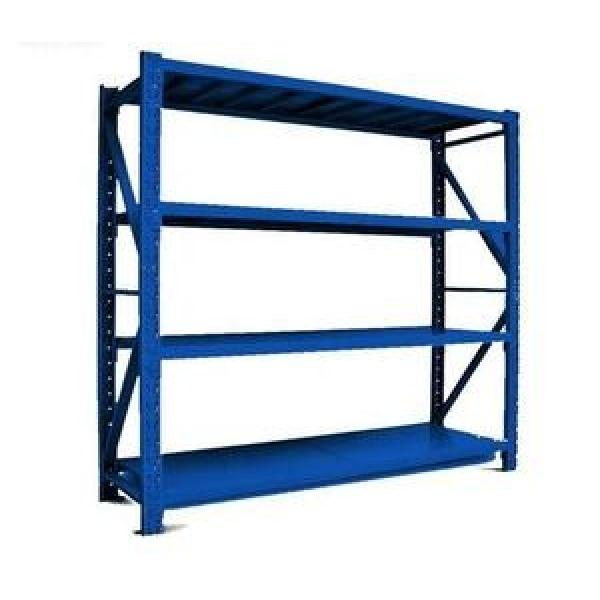 China Industrial Light Heavy Duty Warehouse Storage Pallet Boltless Rivet Angle Metal Steel Shelf #2 image